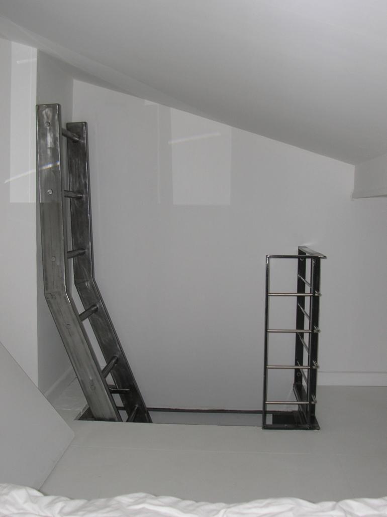 Soudure escalier garde corps Pumatlantic