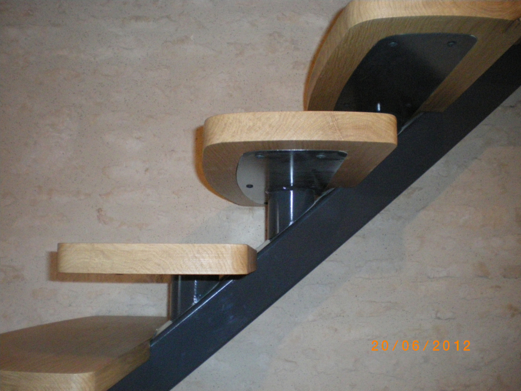 Soudure escalier interieur Pumatlantic